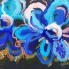 Blue Belle Jen Shewring 2020 30x23cm Acrylic On Canvas