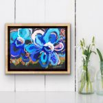 Blue Belle – Abstract Flowers