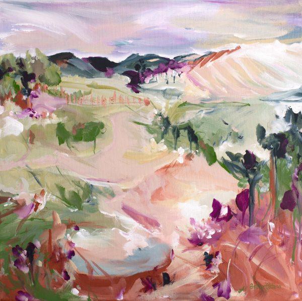 Blushing Fields By Bamber Gittins