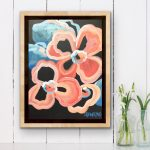 Citrus Sunset – Abstract Flowers
