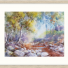 Currawon Creek In Oyster Frame