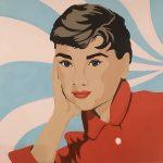 Audrey in Red Coat
