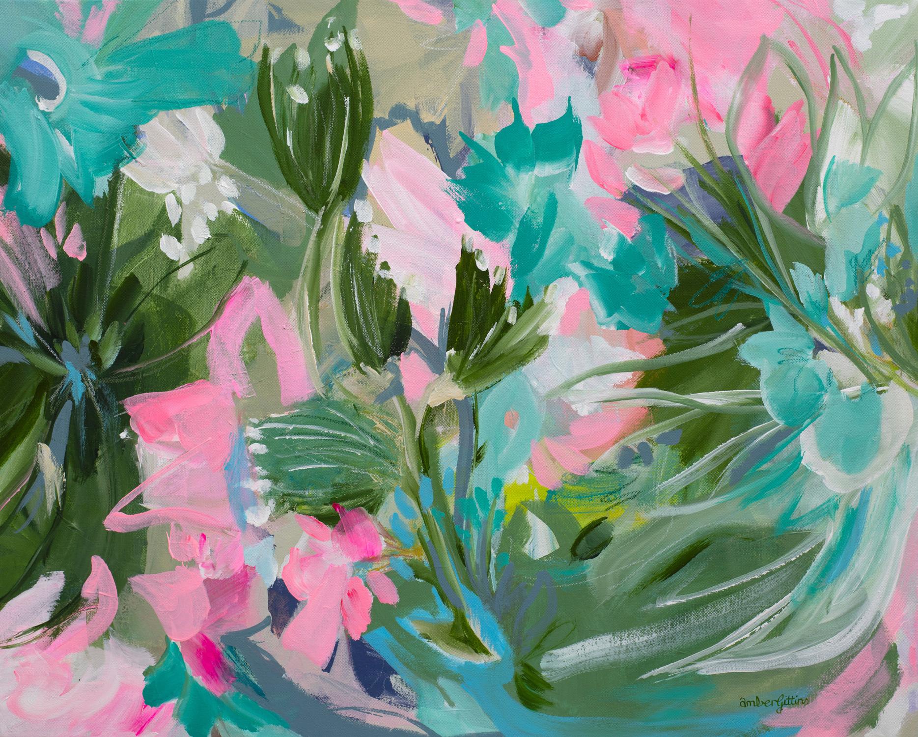 Floral Burst By Amber Gittins