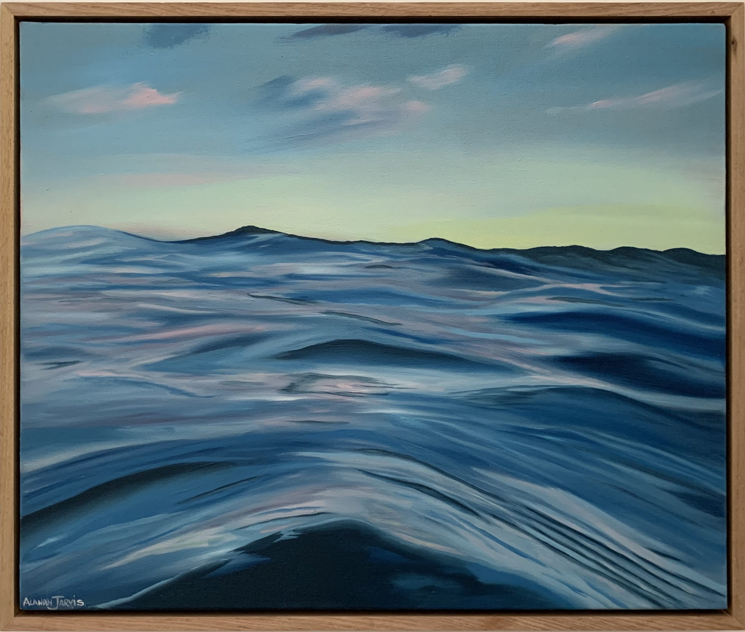 Hoverlay Image Thalassophile Alanah Jarvis Ocean Painting