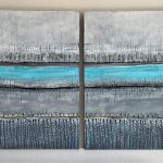 Across The River     Diptych