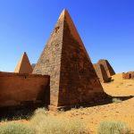 Meroë Necropolis, Pyramids Northern Burial Ground, Sudan – Ltd Ed Print