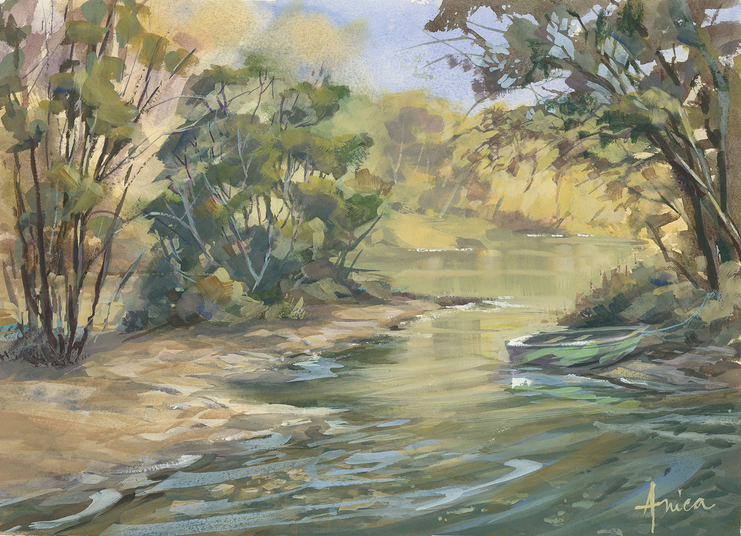 On The Lachlan River In Cowra++