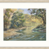 On The Lachlan River In Cowra++in Oyster Frame