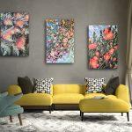 Floral Sensations Camellia, Crabapple and Grevillea – Set of 3