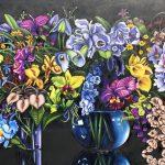 Flowers in three Vases