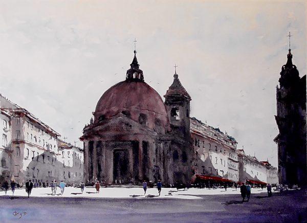 Piazza Del Popolo No Edit