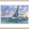 Sailing The Seas In Frame+
