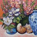 Sea shells and flowers No 1
