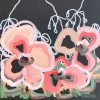 Strawberry Blonde Jen Shewring 2020 35x35cm Acrylic On Canvas