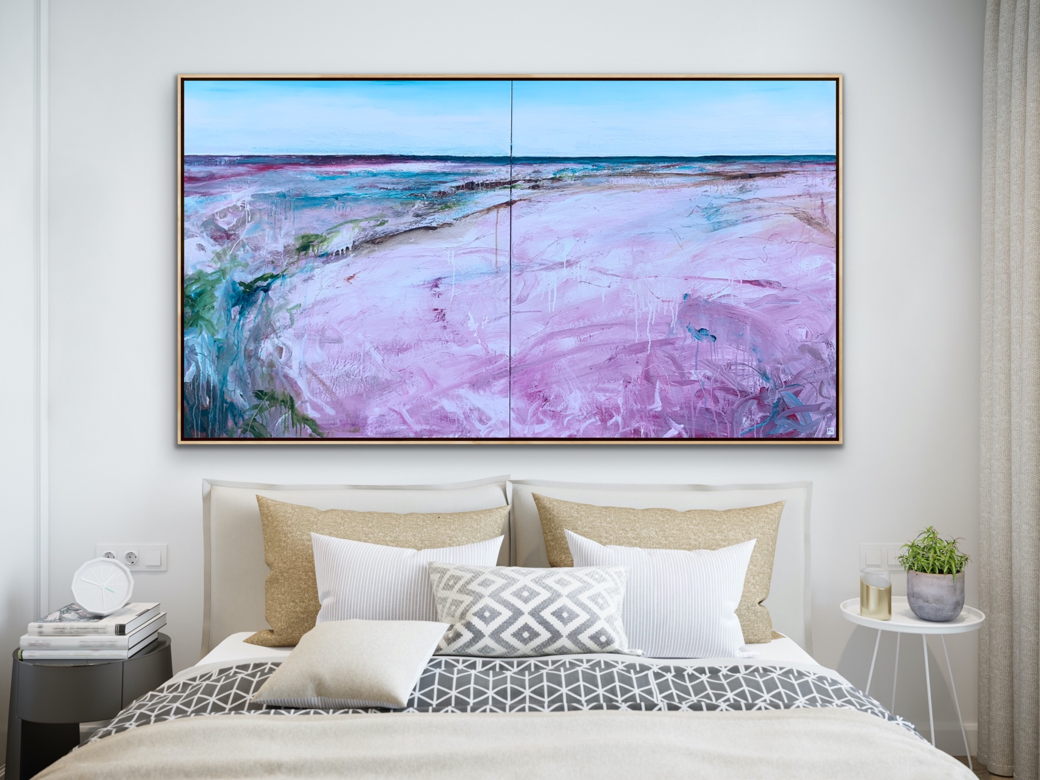 Velvet Coral Bay Tania Chanter Inroom