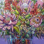 Waratah, Pink Proteas and Aussie bush flowers