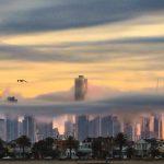 Rolling mist of Melbourne
