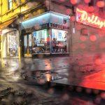 A Melbourne Winters Tale, Pellegrini's Cafe