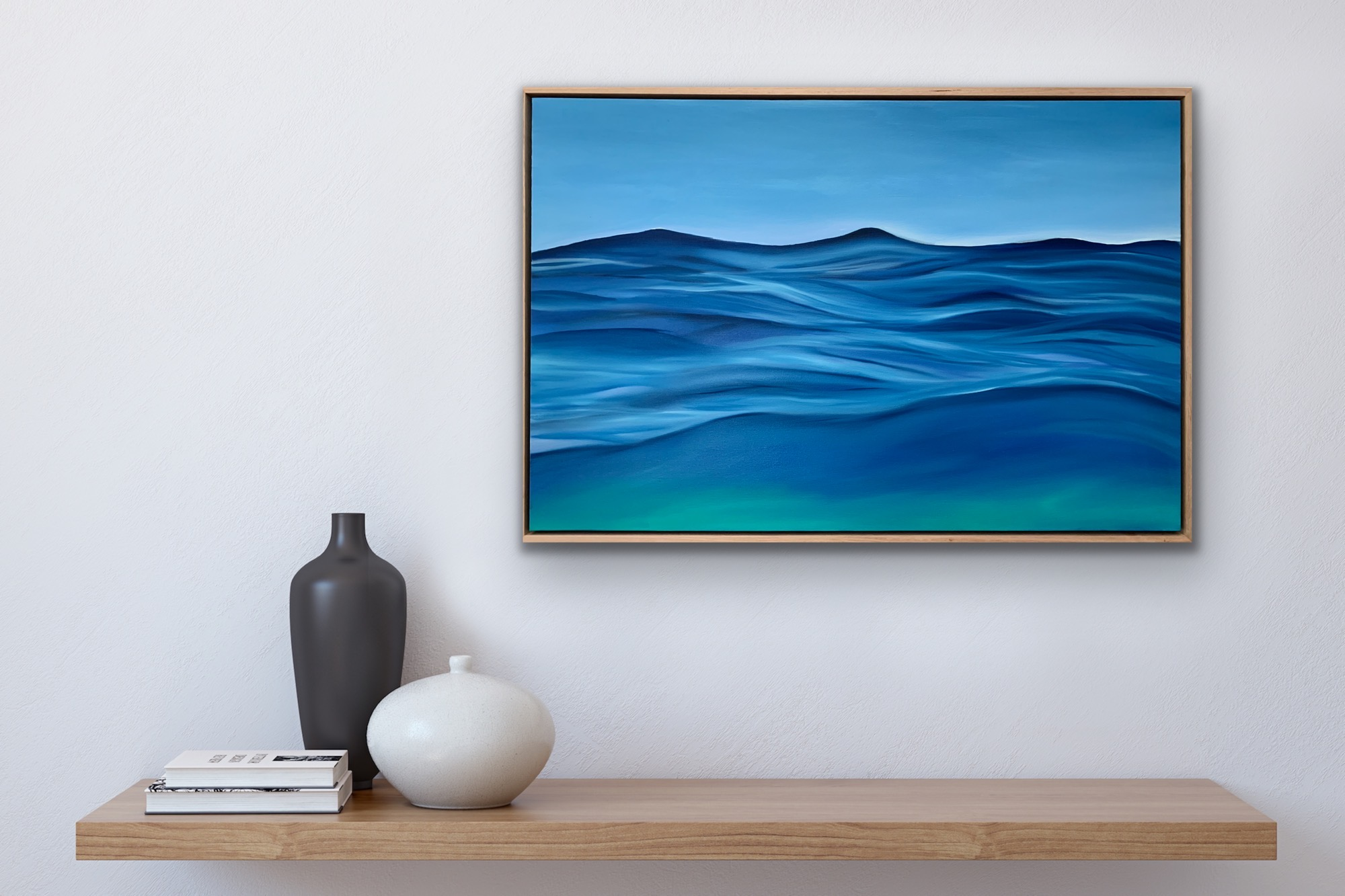 Hero Shot Alanah Jarvis Smell Of Summertime Ocean Painting