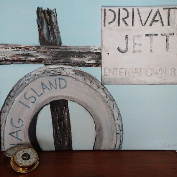 Jetty Shag Island