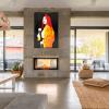 Make It Pop Art Limited Edition Fierce Like A Sumarai Red Interior Styling
