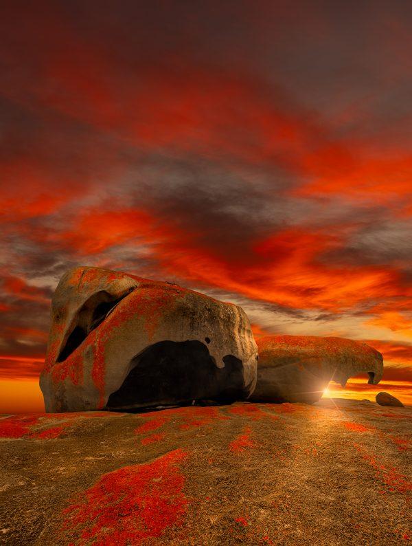 Remarkable Rocks Kangaroo Island South Australia Nikart Photography