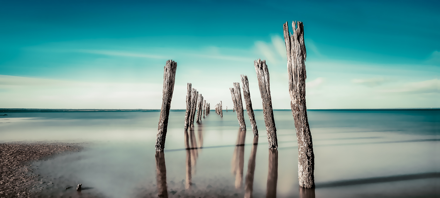 Tenby Point Old Jetty Westernport Nikart Photography