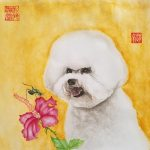 Bichon Frise Dog  – Ltd Ed Print