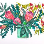 Protea Eucalyptus Bunch