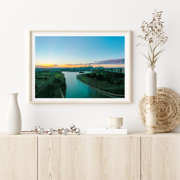 Mock Up Frame In Home Interior Background With Minimal Decor, 3d