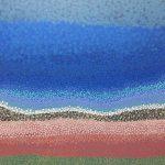 Dot painting 'Broome coast'