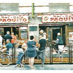 Bar Paquito Ltd Ed giclee print No 3 (Whitewash)