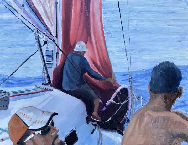 Becalmed, China Sea Race Main