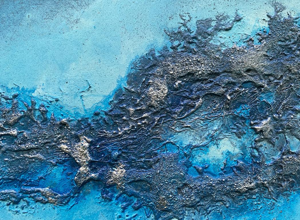 Blue Wall Art Petra Meikle De Vlas