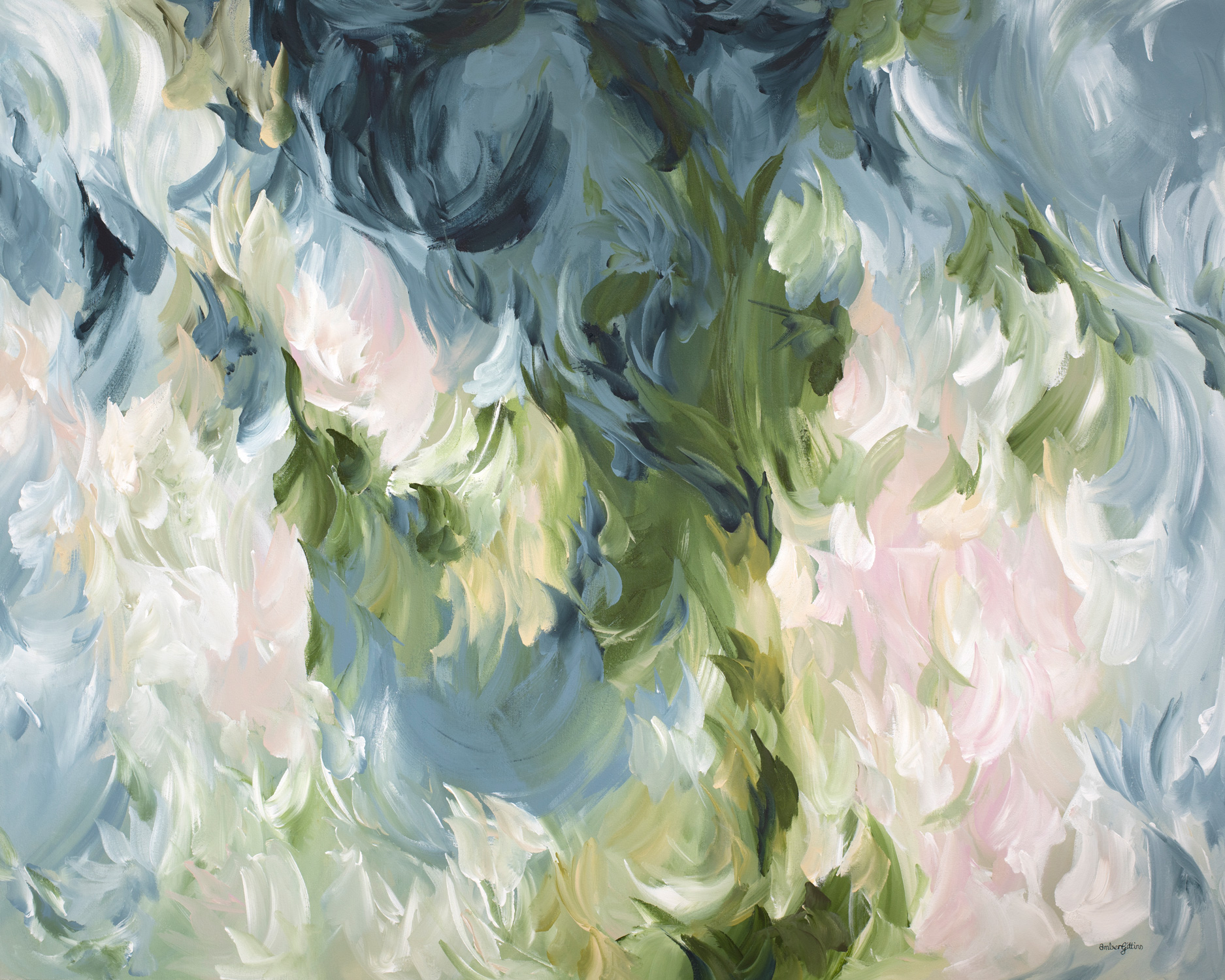 Candy Floss By Amber Gittins