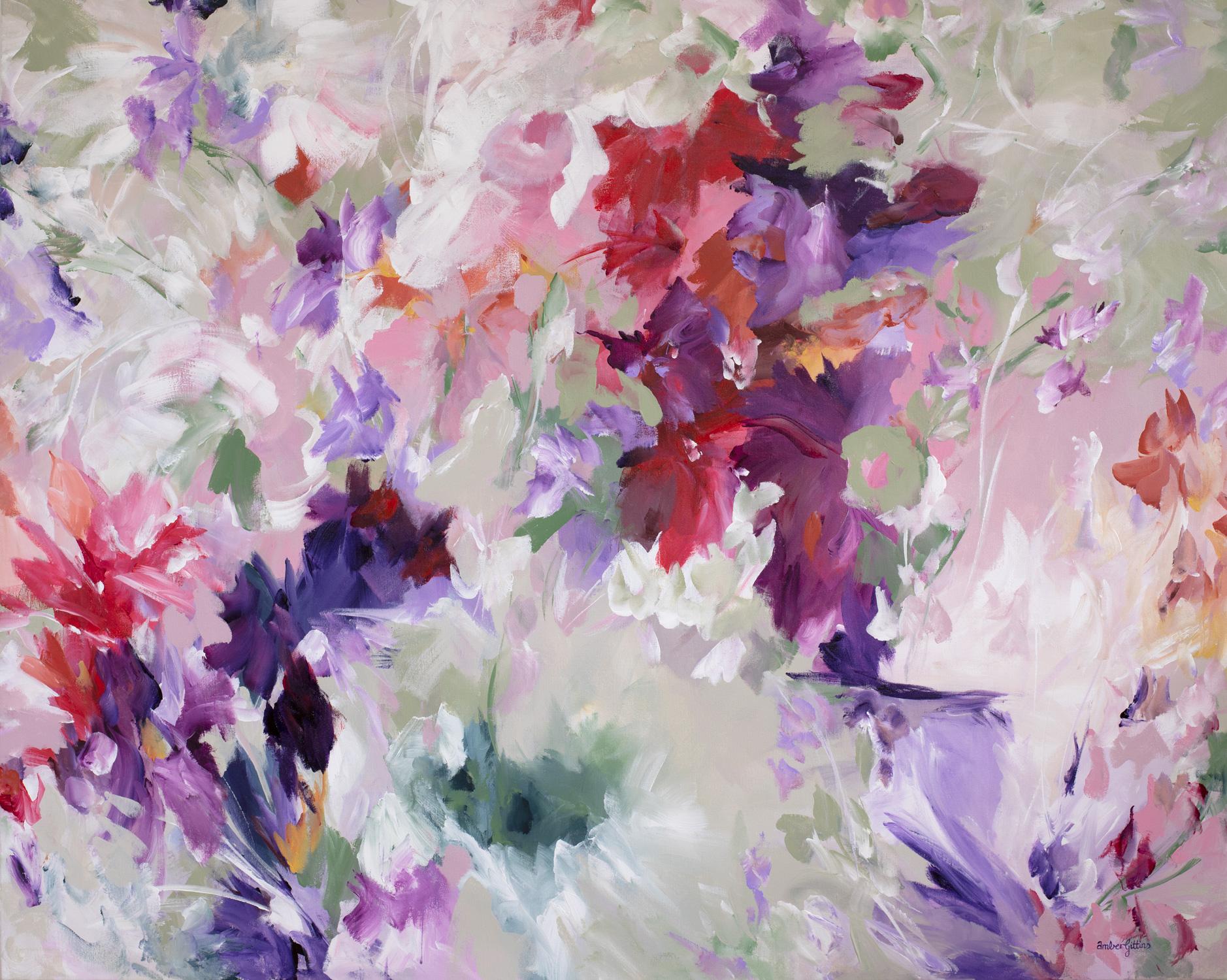 Explosive Blooms By Amber Gittins