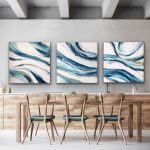 Aquatic Movement (triptych)