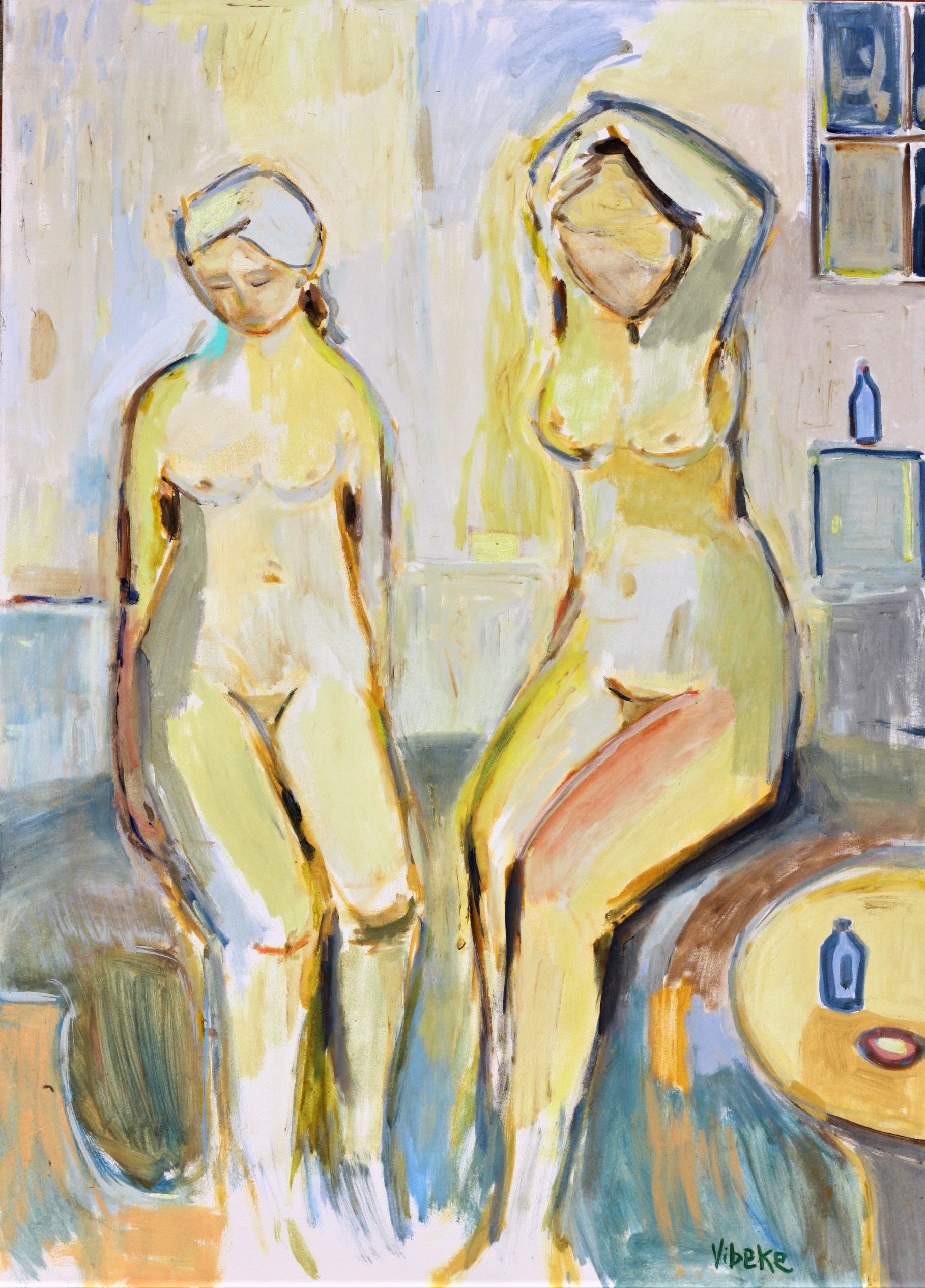 In The Morning 65x90cm