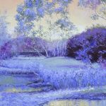 Landscape in Purple and Lavender