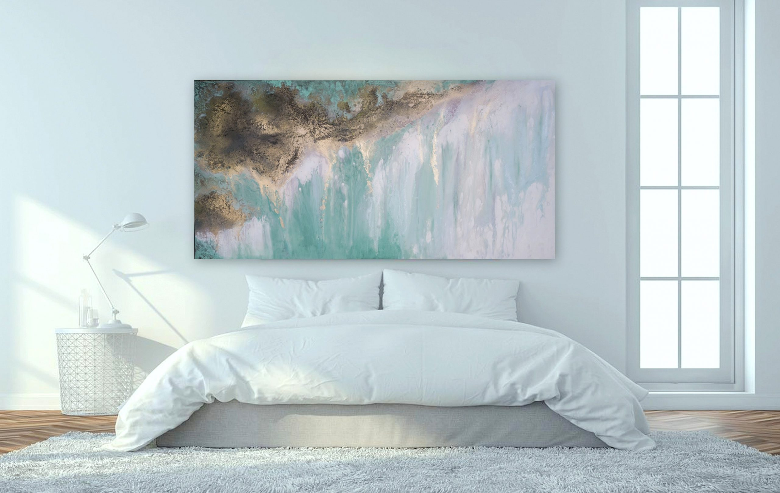 Large Abstract Artwork By Petra Meikle De Vlas1