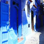 Narrow Alley Chefchaouen Morocco – Ltd Ed Print