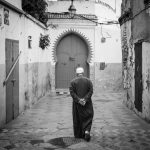 Contemplative Walk, Morocco