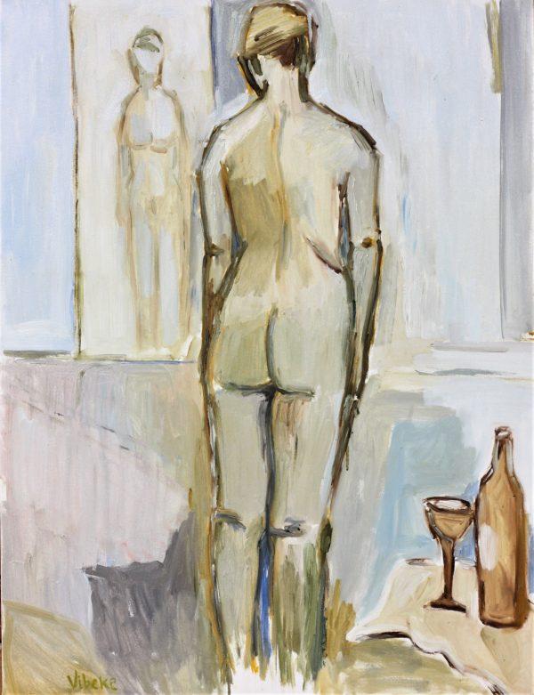 Standing Nude 65x85cm