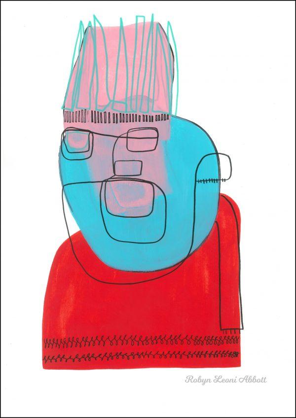 King Of Goodwill Robyn Leoni Abbott Giclee Print 600x848