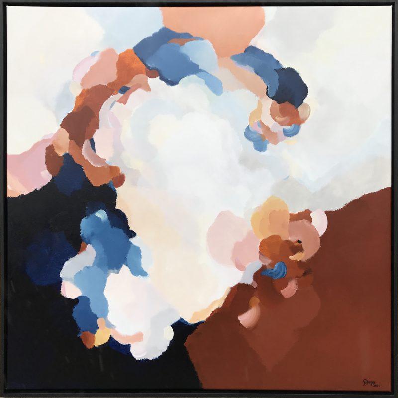 Lauren Danger Clouds At Dusk 9 Art Lovers Australia