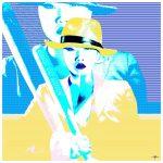 Game On Mo!e$ in Yellow Ltd Ed Print