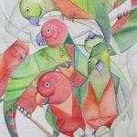 Puzzle King-Parrots