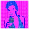 Pop Art Original Modern Wall Art Premium Wasted Beauty Pink