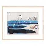 3D Brighton Beach on Perspex