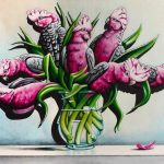 A Posie of Pollies Ltd Ed Canvas Print